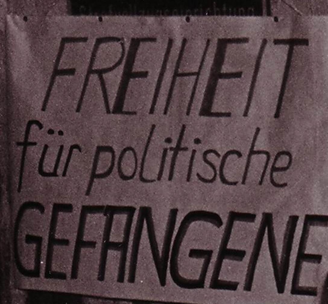 Freiheit für die politischen Häftlinge